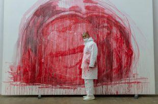 К открытию выставки «Чжан Хуань. В пепле истории» в Государственном Эрмитаже.