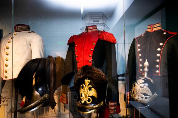 Постоянная экспозиция «Мундир для героя» в Музее военной формы. Предоставлено: Музей военной истории РВИО.