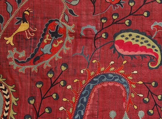Онлайн-лекция «Непотерянный рай. Сузани. Декоративные вышивки Узбекистана» Музея Востока.