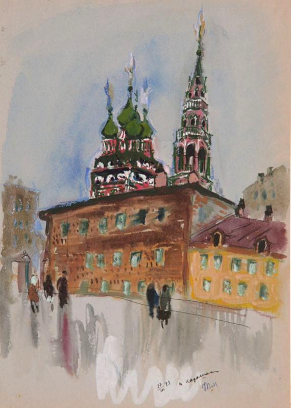 Москва военная в работах Татьяны Мавриной.