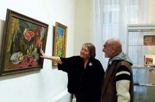 Онлайн-встреча с Еленой Яковлевой, Галерея «Экспо-88» «Особенности формирования коллекции работ Арона Буха».