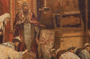 Бои за историю: царь Алексей Михайлович и патриарх Никон.