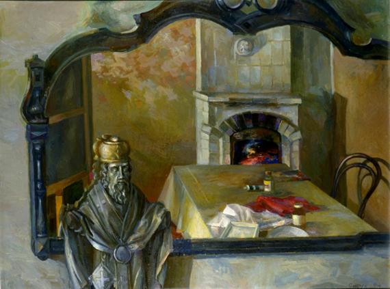 """Александр Ящук """"Отражения"""" 1998. Предоставлено: Московский Союз Художников."""