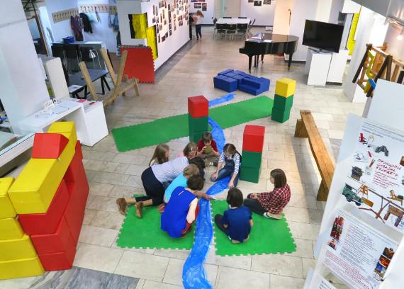 Детские мастерские Строим мир внутри галереи Выхино