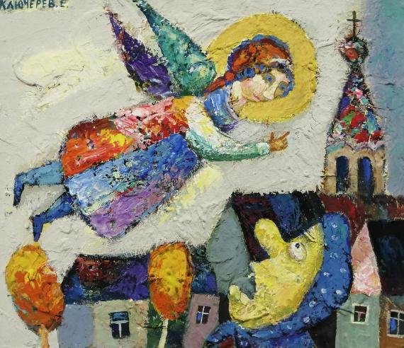 Евгений Ключерёв «Страстная неделя» 2012. Предоставлено: Галерея «На Чистых прудах».