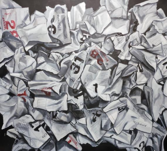 Выставка Дмитрий Самодин и Денис Рудых Абсурд движения Галерея Измайлово