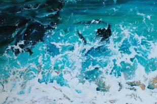 Выставка Анна Водка Море внутри море снаружи Галерея мастерская Варшавка