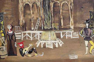 Выставка Театр художника Владимира Серебровского Дом музей Островского