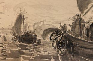 Выставка Илья Репин – учитель Галерея Веллум Малявин Куликов Шестопалов Честняков