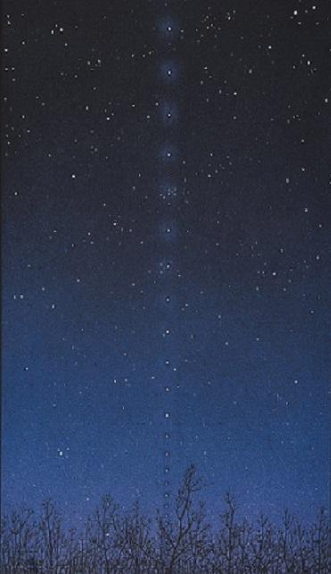 Франциско Инфанте-Арана «Космос каббалистики. Проект звездного неба № 1» 1965. Предоставлено: Государственная Третьяковская галерея.