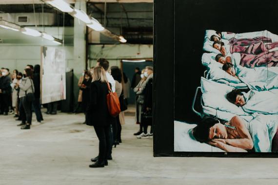 Выставка «Сновидения» Тенгиза Шамова от VS unio art gallery. Предоставлено: Фестиваль MOST.