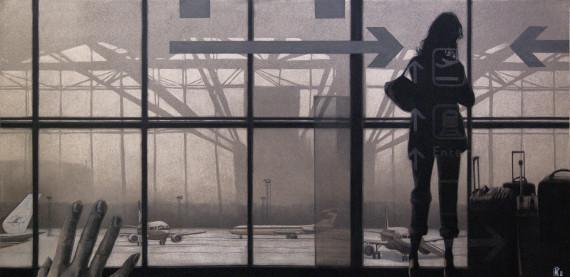 Анастасия Кузнецова-Руф «Аэропорт. Полина 15 из проекта «Управляй!» 2010. Предоставлено: VLADEY.