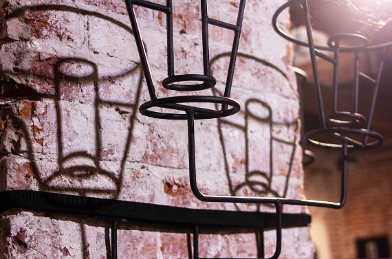 Выставка «Сварка каркасов». Предоставлено: Государственный музей архитектуры имени А.В. Щусева.