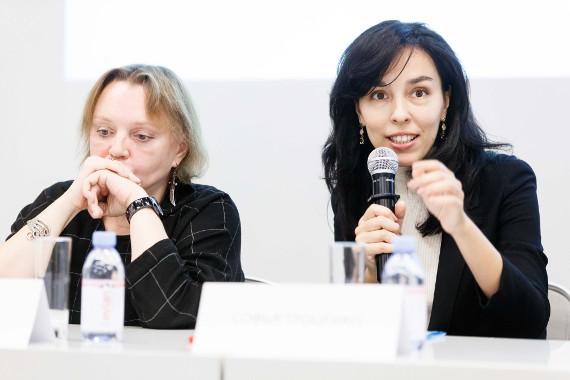 Елена Селина и Софья Троценко. Предоставлено: Anna Dyulgerova Communication.