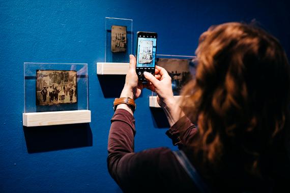 Виртуальная экскурсия по выставке Дома Гоголя «Больше, чем фотография: американский тинтайп». Предоставлено: Дом Гоголя.
