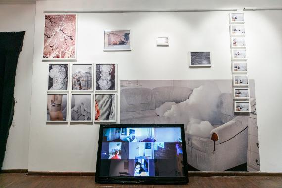 Экспозиция групповой выставки «Паузы». Предоставлено: Московский музей современного искусства.