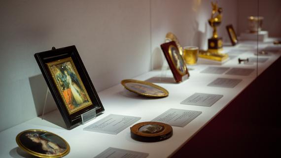 Выставка Империя в миниатюре В царском круге Музей панорама Бородинская битва
