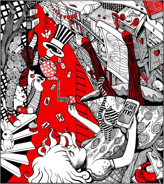 Выставка Алиса РОСИЗО в павильоне Книги на ВДНХ
