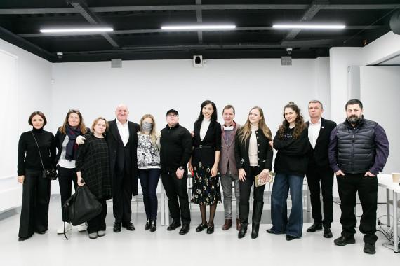 Члены и правление Ассоциации Галерей. Предоставлено: Anna Dyulgerova Communication.