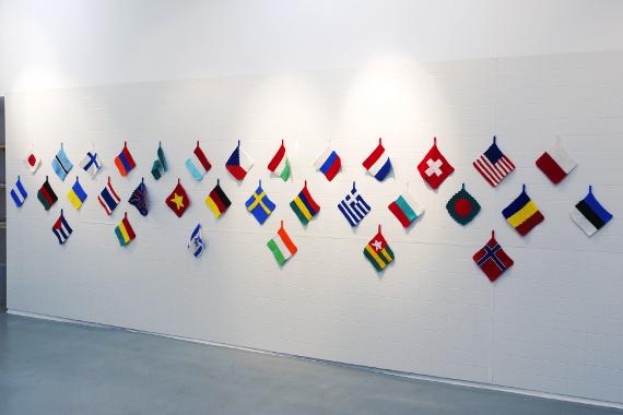 Выставка Ольги Божко «Каждая кухарка» в Галерее Iragui. Предоставлено Gallerie Iragui.