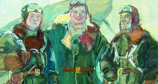 Искусство, опаленное войной. Акварель и графика из собрания А. Г. Егорова.
