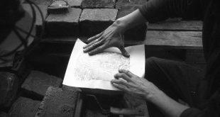 Час литограффити с 0331с в Музее Вадима Сидура 3 октября