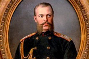 Иван Извеков. Портрет великого князя Александра Александровича.