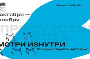 Смотри изнутри. В рамках IV Международного инклюзивного фестиваля «В присутствии всех».