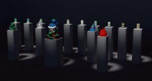 Арт-проект Михаила Цатуряна «Рождение легенды». К 130-летию бренда Borjomi.
