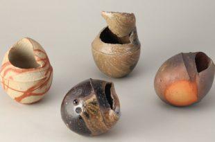 Метаморфозы земли: Японская неглазурованная керамика якисимэ.