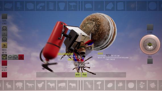 Михаил Максимов. Скрин с экрана видеоигры The Tool. Предоставлено: Музей современного искусства ГАРАЖ.
