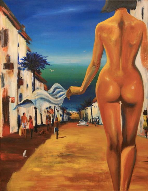 Ирина Сергеева «The Girl From Ipanema» Предоставлено: ЦСИ «Винзавод».