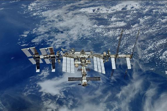 Международная космическая станция МКС. Предоставлено: Роскосмос и Музей Космонавтики.