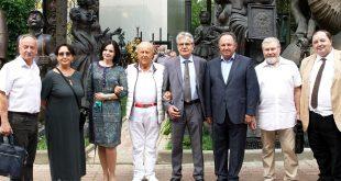 Подписание Соглашения о сотрудничестве между Российской Академией Художеств и Российской Академией Наук.
