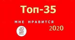 Опубликован Топ-35 популярных художников молодого поколения проекта 49ART.