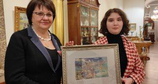 Галерея «Веллум» подарила Владимиро-Суздальскому музею-заповеднику уникальную акварель Александры Коноваловой.