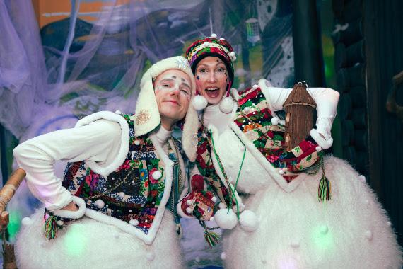 Сказочная резиденция Деда Мороза в ТРЦ «Ривьера».