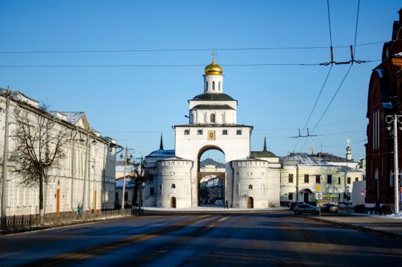Золотые ворота во Владимире. Предоставлено: Владимиро-Суздальский музей-заповедник.