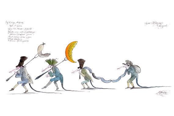 Гофманические балеты Михаила Шемякина. Предоставлено организаторами выставки.