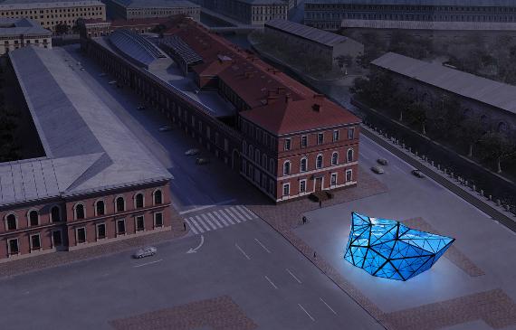 Проект ArtAntarctica ЦВЗ Манеж на Площади Труда Санкт-Петербург