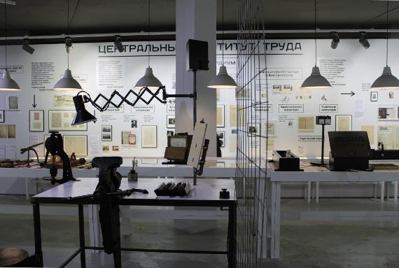 Выставка «Гастев.Как надо работать» в Галерее «На Шаболовке». Фото: © Cultobzor.ru