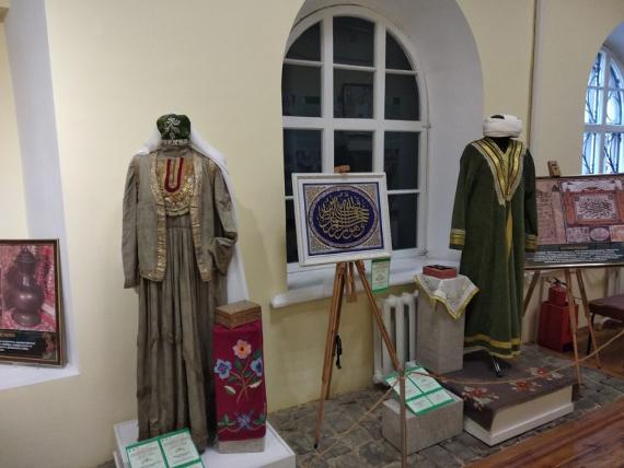 Выставка В гостях у татар в Астраханском краеведческом музее.