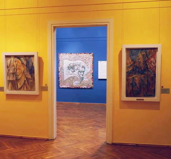 Выставка Владимир Потапов Проект Вотъ Выставка одной картины в Самарском областном художественном музее