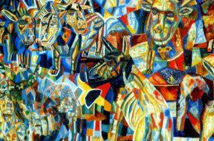 Выставка Павел Филонов и его ученики Новосибирский художественный музей Из собрания Русского музея