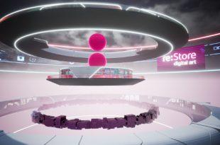 re:Store и Винзавод запустили виртуальную платформу цифрового искусства Digital Earth.