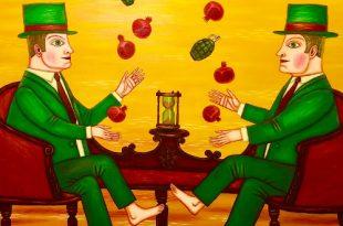 Нарисованное время Новогодний маркет в Галерее Светланы Сажиной