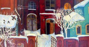 Выставка Зимние пейзажи в собрании Астраханской картинной галереи Дом музей Б.М. Кустодиева