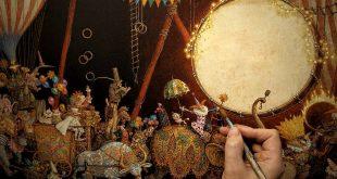 Выставка Цирковой Новый год Arts Square Gallery Санкт-Петербург.