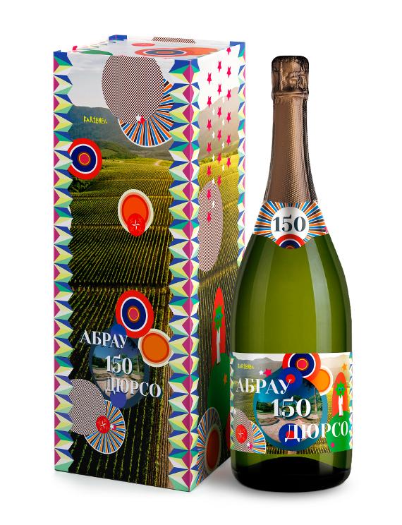 Андрей Бартенев стал автором дизайна этикетки лимитированной коллекции игристых вин Абрау-Дюрсо