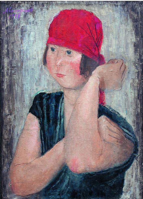 Александр Самохвалов «Работница табачной фабрики» 1928. Предоставлено: РОСИЗО.